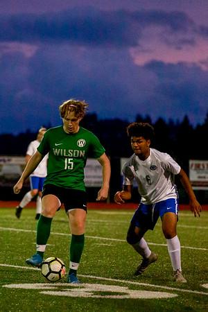2019 Mens Soccer Wilson vs Gresham