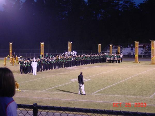 2003-10-25: Heart of Carolina Invitational