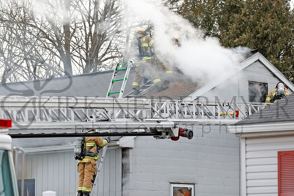 02.19.19 Garage Fire at JR Auto in Upper Leacock Township