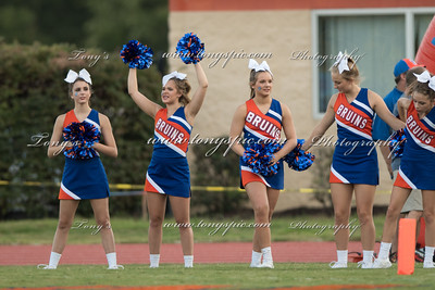 Cheerleaders at Dalton Game 2 Sepi 2016