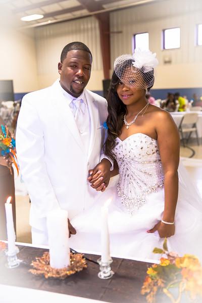 Jermaine + DeAlfress Wedding