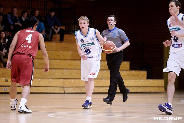Bærum Basket - Centrum Tigers (130122)