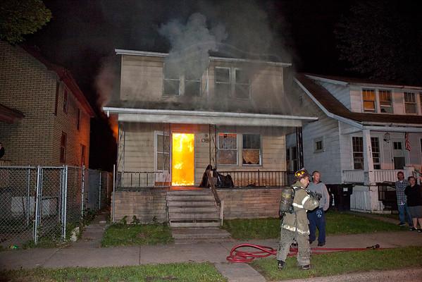 Detroit, MI - Box Alarm - 6431 Perkins St. - August 18, 2012