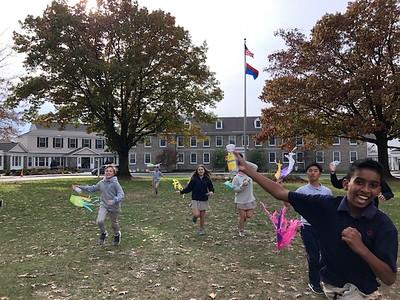 Kite Flying in Spanish Class