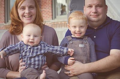 Beougher family fall mini