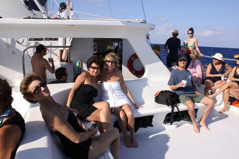 Thursday catamaran crew