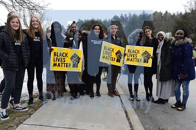 Black Lives Matter flag raising