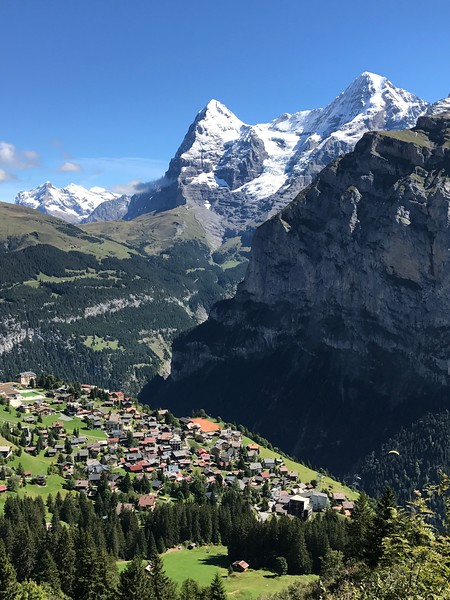 Mürren and The Eiger (Joe Tibbetts 1)