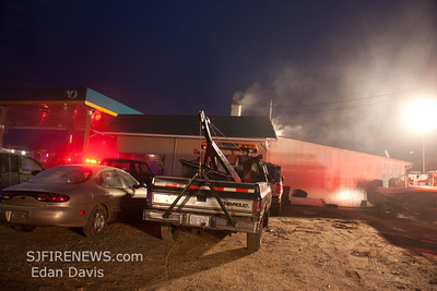 01-26-2012, Commercial Structure, Hopewell Twp. Cumberland County, Rt. 49 and West Park Dr. Valero Gas