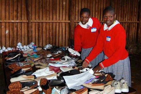 Shoes for Kenya
