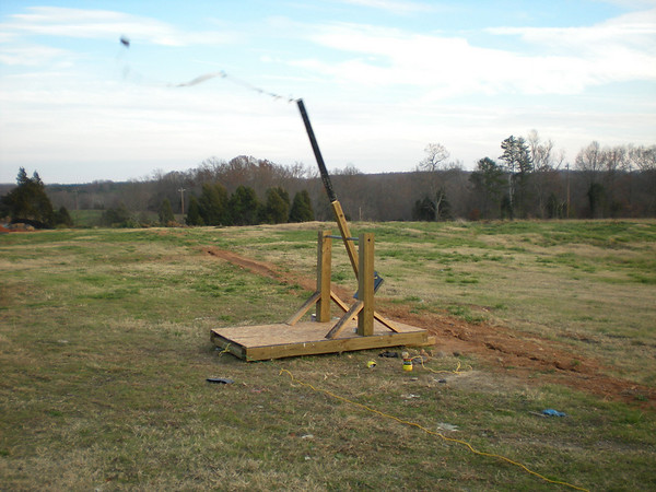 Woodworking Catapult