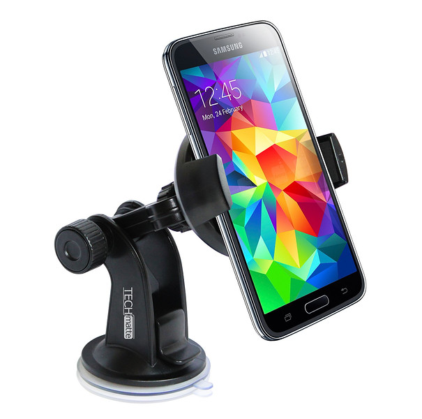 TechMatte ProGrip Universal Windshield Car Mount