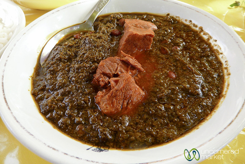 Ghorme Sabzi (Stew) - Shiraz, Iran