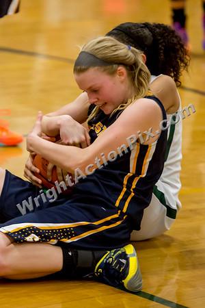 2015 02 26 Clarkston Varsity Girls Basketball vs Harrison
