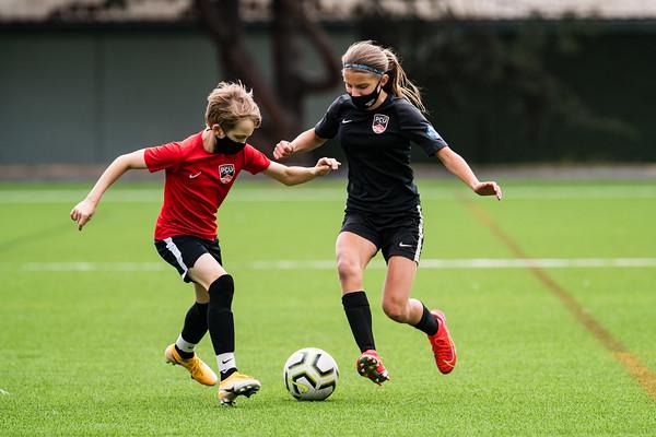 PCU U14 Girls Oregon State Champions (Scrimmage)