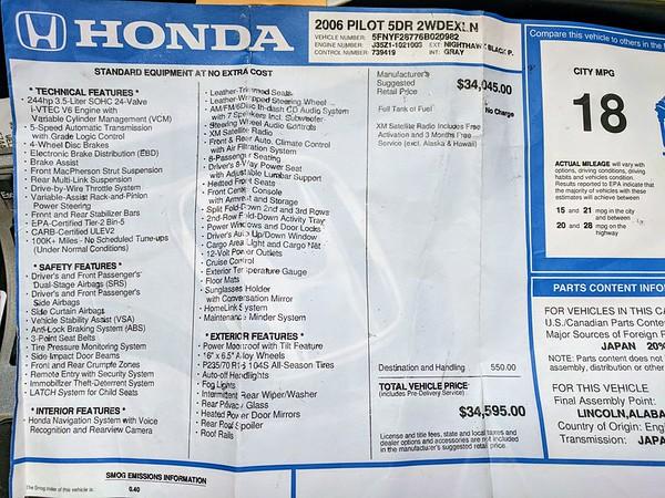 Honda Pilot 2006