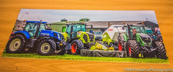 16x6 print produced for J.Tams Contracting who attended the 2017 Smallwood Vintage Rally in Sandbach (Cheshire)