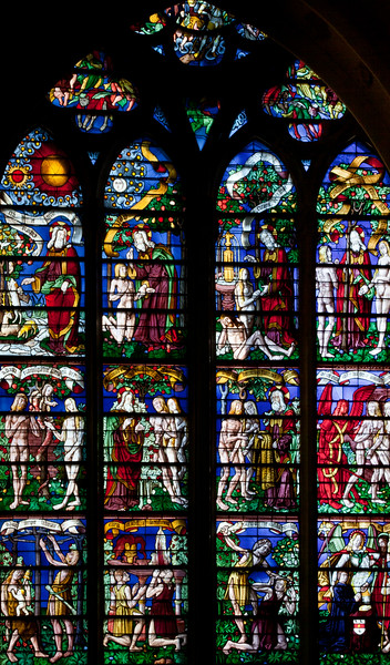 Chalons-en-Champagne Cathedral, The Creation
