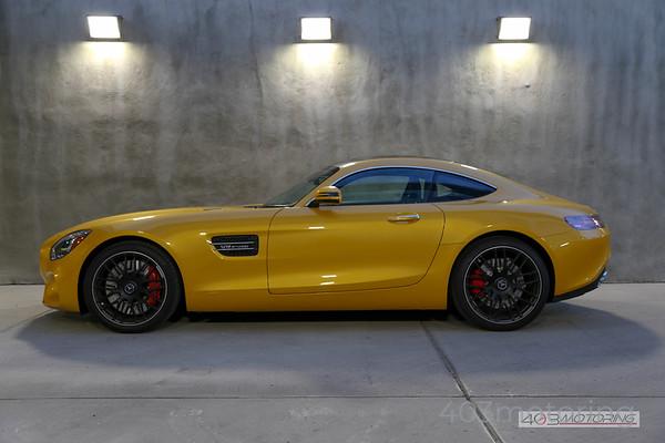 '16 AMG GT S - Solar Beam Yellow