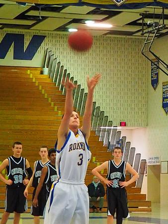 Boys JV Basketball 2/11/14