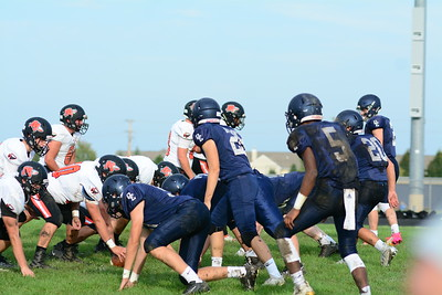 OE Soph. Football Vs Minooka 2019