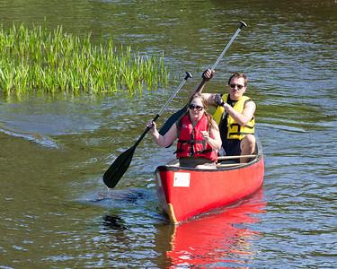 Callie Rohr Memorial Canoe Race 2012 - Saturday