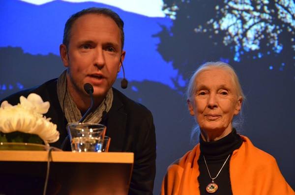 Jane Goodall Sweden Trip Spring 2015