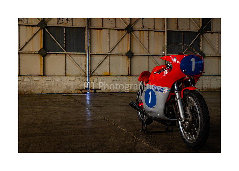 MV Agusta GP Bike in the Hangar