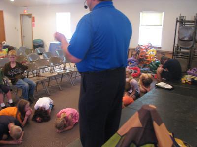 WI Free Methodist family camp, Montello WI, July 2012