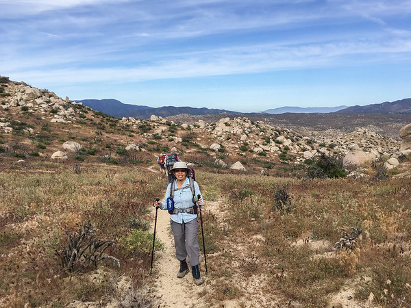 Pinyon Ridge & Wilson Mark Backpacking, April 22-23,2017