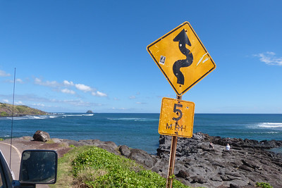 Drive Slow in Molokai