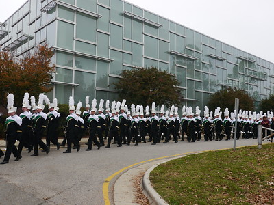 Cary Band Warm Ups and Performances