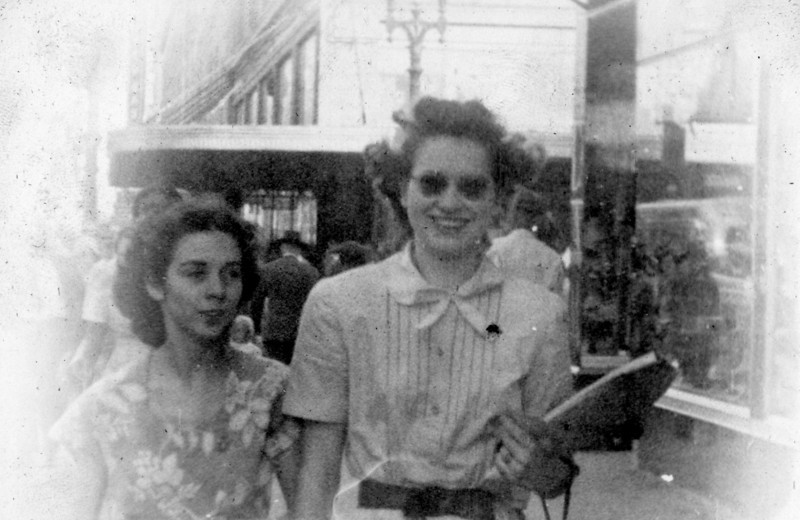 Maria Jacob with Friend
