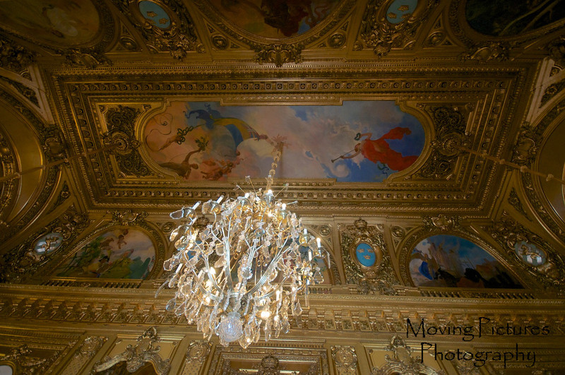 Stockholm - Opera House, ceiling detail