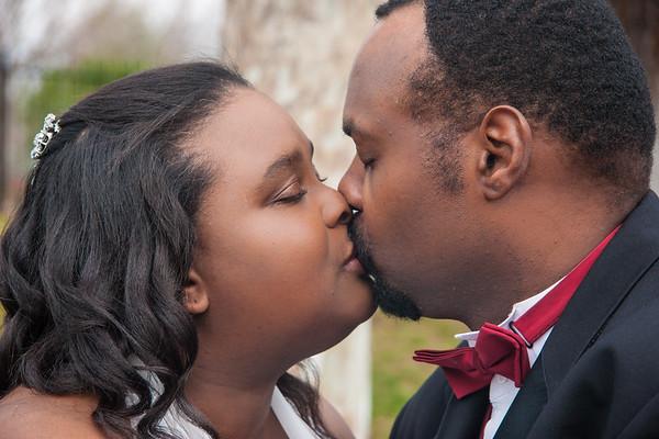 Monique and Jerome Wedding, Jan 11, 2014