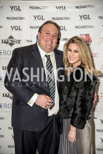 Fritz Brogan, Brooke Brogan, Washington Life Magazine, The Young and the Guest List, YGL, Union Station, November 10, 2017, photo by Ben Droz.