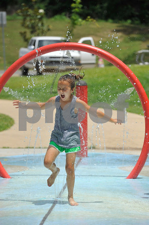 6/1/15 Children Play at Bergfeld Park and Faulkner Park by Andrew D. Brosig