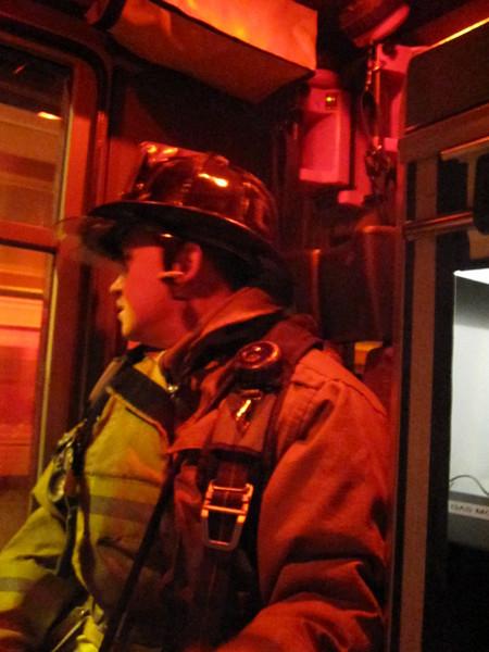 Schuylkill County - Mahanoy Twp. - Trailer Fire - 4/20/10