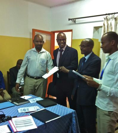 Rwanda Micro-Dairy Project March 2014