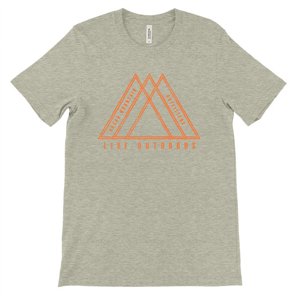 Organ Mountain Outfitters - Outdoor Apparel - Youth T-Shirt - Live Outdoors Tee - Heather Stone.jpg