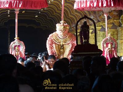 யாழ்ப்பாணம்நல்லூர்க்கந்த சுவாமி ஆலய 21 ஆம் நாள் திருவிழா