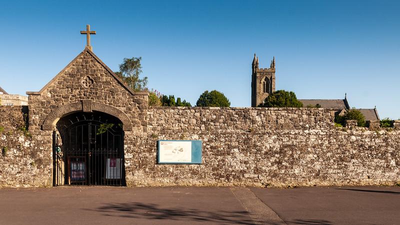 Shaftesbury Abbey gates