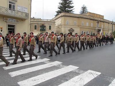 Naxxar 75th Anniversary Parade - Sun 20th March 2011