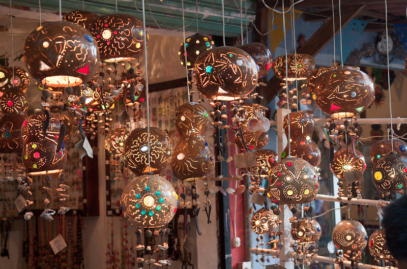 Souvenir shop in Playa del Carmen
