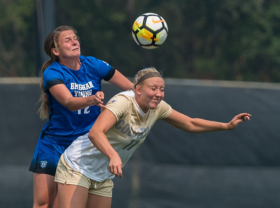 NCAA - Women's Soccer - CU vs BYU - 2017-09-04