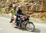 Riding pillion from Dalat to Nha Trang