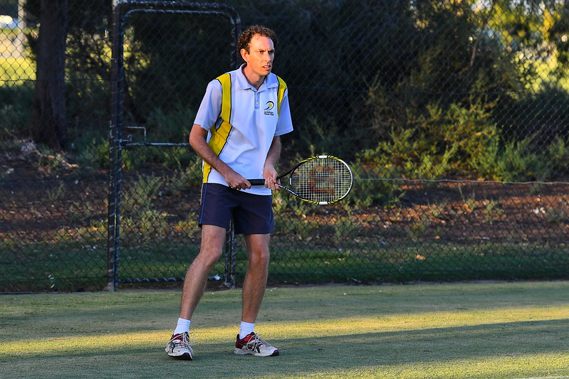 Friday night tennis Div 1 Men Berri v Loxton