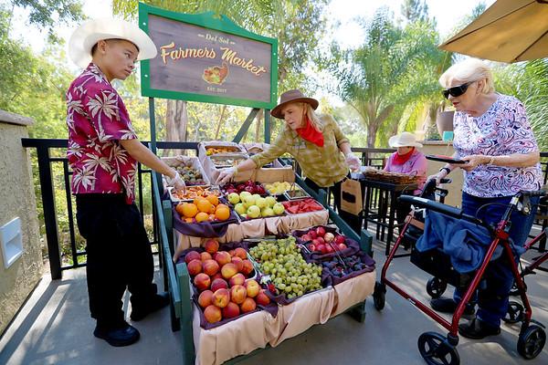 Farmers Market - Senior Living