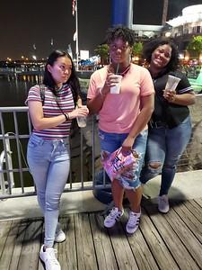 2019-7-26 - Anjelle, Jada and Kaiya Night Out