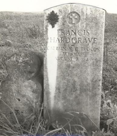 1816-1836 Hardgrave Cemetery Nashville Williamson County TN